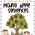 Picking Apple Sentences