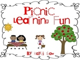 Picnic Learning Fun