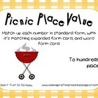 Picnic Place Value Pack