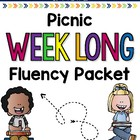 Picnic Weeklong Fluency Packet