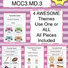 Pictograph Fun - Common Core Math MCC3.MD.3 - 3rd Grade