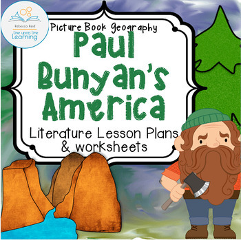 Paul Bunyan's America (Picture Book Geography -- Cross-cur