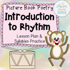 Introduction to Poetry's Rhythm with syllables practice (K