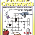 Picture Crosswords 6: The Letter F