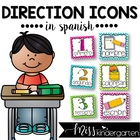 Picture Direction Icons {Spanish}