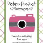 Picture Perfect Sentences {Freebie}