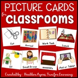 Picture Schedule Cards {For Students with Special Needs}