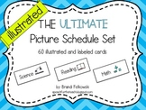 Picture Schedule - Simple, Illustrated