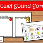 Picture Sorts for Short and Long Vowels