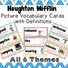 Picture Vocabulary Cards with Definitions for Houghton Mif