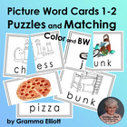Picture Word Puzzles – Grades 1-2
