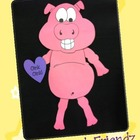 Pig Animal Fun Glyph Craftivity
