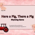 Pig Rhyming