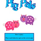 Pig pals behavior folder game