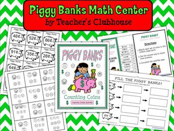 Piggy Banks Math Learning Center (Money)