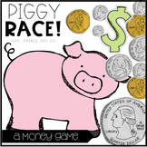 Piggy Race! {a money game}
