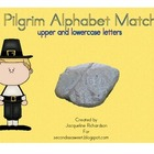 Pilgrim Alphabet Match