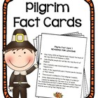 Pilgrim Fact Cards