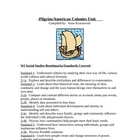 Pilgrim/American Colonies- 2 Week Unit