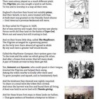 Pilgrims at Plymouth (21) - poem, worksheets and puzzle