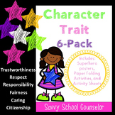 Character Trait 6-Pack- Savvy School Counselor