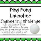 Ping Pong Launchers: Engineering Challenge Project ~ Great
