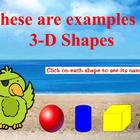 Pirate 3-D Shapes for Promethean Board