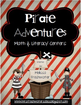 Pirate Adventures Centers for Math & Literacy