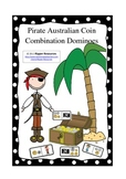 Pirate Australian Coin Combination Dominoes