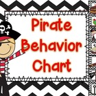 Pirate Behavior Chart