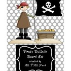 Pirate Bulletin Board Set for SLPs