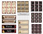 Pirate Calendar and School Themed Items