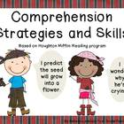 Pirate Comprehension Strategies and Skills posters