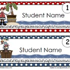 Pirate Editable Name Tags