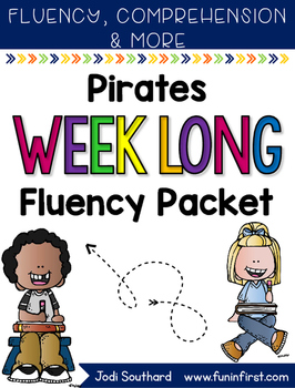 Pirate Fluency Passages