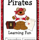Pirate Classroom Decor & Learning Centers