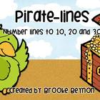 Pirate-Lines - Number Lines to 10, 20 and 30