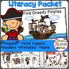 Pirate Loot! Five Greedy Pirates