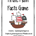 Pirate Math Facts Game-Common Core