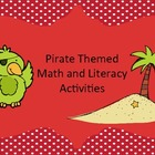Pirate Math &amp; Literacy Centers: Money, Graphing, Calendar,