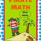 Pirate Math - Measurement, Space and Number Booklet