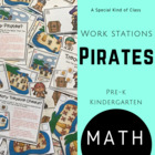 Pirate Math Work Stations - Aligned to Common Core