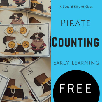 Pirate Math Work Stations - Aligned to Common Core - Freebie