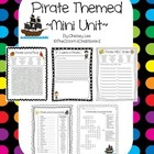 Pirate Mini Unit {Pirate Vocabulary Activities}
