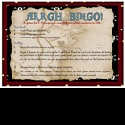 Pirate Ordinal Number Bingo