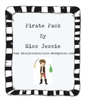 Pirate Pack - Math and Literacy activities