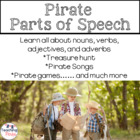 Pirate Parts of Speech