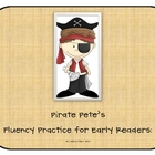 Pirate Pete's Fluency Practice for use with DIBELS or AIMSweb