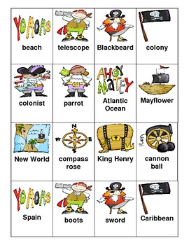 Pirate Proper Nouns