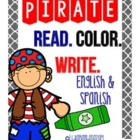 Pirate- Read Color Write { FREEBIE }
